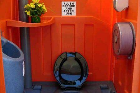 sewa toilet portable