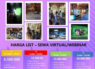 Paket Virtual Dan Webinar Event